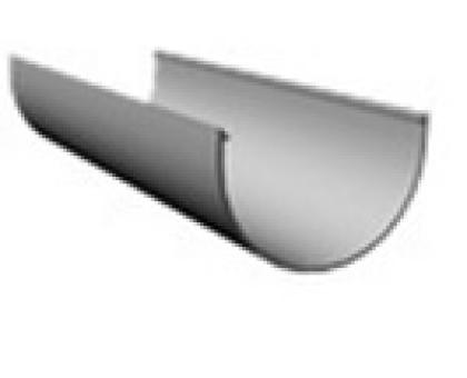 ЖЕЛОБ водосточный 120 х 3000 мм (пломбир)