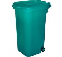 Бак для мусора с откидной крышкой 240 л