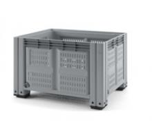 Пластиковый контейнер iBox 525л 1200х1000 (перфорированный,на ножках), стойкостью t от -30 до +40