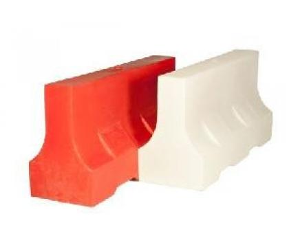 Дорожный блок водоналивной 150x48x81 красный