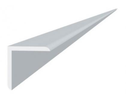 Угол отделочный пвх белый, 2,7м 30х30