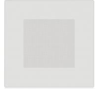 Кассета перфорированная Албес AP600A6, Белый матовый, По центру, Алюминий