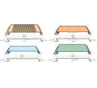 Фасадная панель SUNMATT ширина 200x180 мм длина до 6000мм толщина 0,45 мм