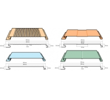 Фасадная панель ширина 200x180 мм длина до 6000мм толщина 0,45 (краска)
