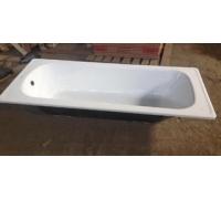 Стальная ванна высокого качества с противоскользящим покрытием 1500x700x360x1,2мм