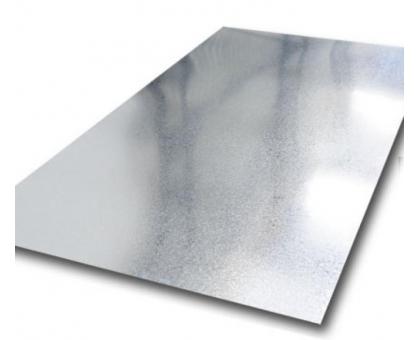 Лист плоский полимер в пленке 1250x2500мм толщ0,45 мм