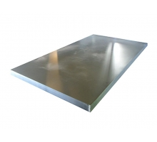 Лист плоский оцинкованный 1250x2500мм толщ1,0 мм