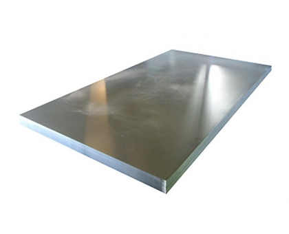 Лист плоский оцинкованный 1250x2500мм толщ0,5 мм