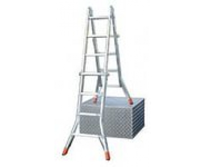 Лестница трансформер выдвижной DLМ4 х 3 88-141-286 алюм