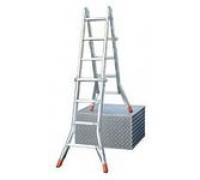 Лестница трансформер выдвижной DLМ4 х 4 114-194-398 алюм