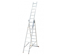 Лестница алюминиевая трехсекционная 3x12 340-555-790 18,0 кг