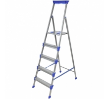 Лестница-стремянка 5 ступ 1пролет QH-125 до 150кг