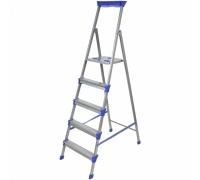 Лестница-стремянка 6 ступ 1пролет QH-126 до 150кг