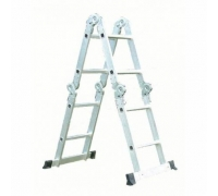 Лестница-трансформер 4 ступ 2 пролет QH-604  до 150кг