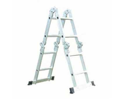 Лестница-трансформер 5 ступ 2 пролет QH-605 до 150кг