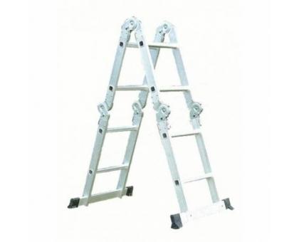 Лестница-трансформер 6 ступ 2 пролет QH-SF6 до 150кг
