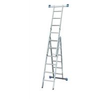 Лестница-трансформер 7 ступ 3 пролет SM-LLA307 до 150кг