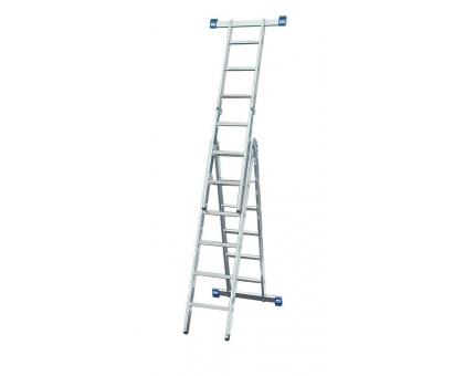Лестница-трансформер 8 ступ 3 пролет SM-LLA308 до 150кг