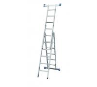 Лестница-трансформер 11 ступ 3 пролет SM-LLA311 до 150кг