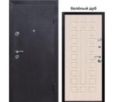 Металлическая дверь Йошкар 6,8см беленный дуб, ель, венге, золотистый дуб; 2 петли 2050x860(960)x68 наполнение минеральная вата