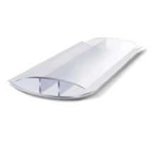 Соединительный н-профиль защелкивающий, 8 мм x 6 м, прозрачный