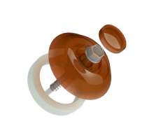 Термошайба для монтажа сот.поликарбоната 10мм бронза