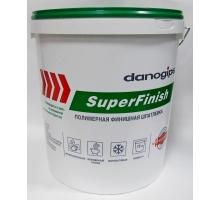 Шпатлевка   Суперфиниш 24 кг Даногипс (ШИТРОК) (ведро)