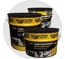 Мастика битумная AquaMast ведро 3 кг