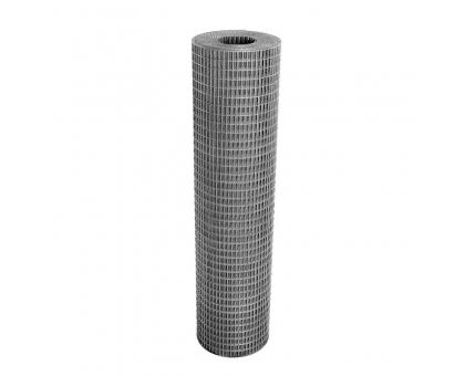 Сетка сварная 1,2 мх20м (ячейка2,5х5см)толщ1,5мм (белый мешок)