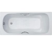 Ванна чугунная Стандарт+ ZYA-9C-6 1600х750х420 с ручками Donny 3-х слойн.эмаль 1/9