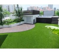 Искусственная трава высотой 45мм; ширина 2-4м; длина 25м;