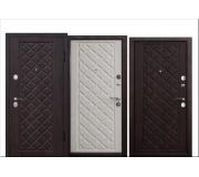 Металлическая дверь KAMELOT Vinorit 9,5 см (Вишня темная, Беленый дуб) 2050x860(960) наполнение пенополистирол