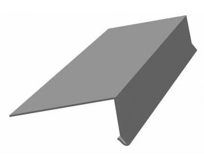 Карниз оцинк 120x70 мм, длина 2500мм