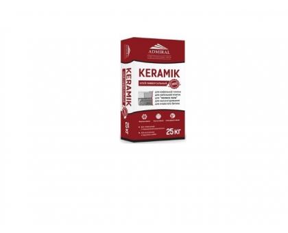 Клей для кафеля ADMIRAL KERAMIK 25кг