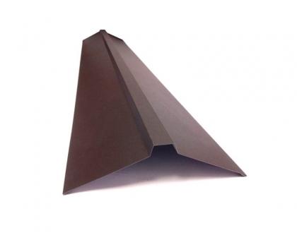 Конек вентилируемый оцинк150x35x150 мм