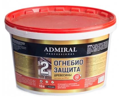 Огнебиозащита 2 группа (красное дерево) ADMIRAL 20л