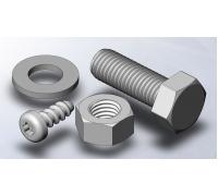 Крепеж металл 3D болт (6х6 см)