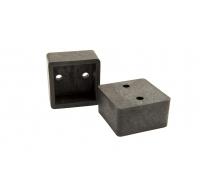 Крепёж для балясин прямой пластиковый POLIVAN GROUP коллекция DENPASAR (20*35*35 мм)