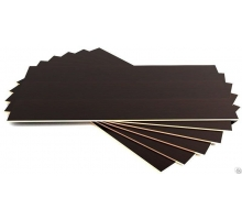 Фанера опалубочная (ламинир. коричневая ФСФ) 18мм 1,22х2,44мм 1/56л