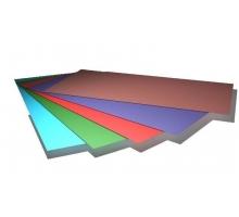 Лист гладкий SUNMATT шир1250мм, длина до 4200мм, толщ0,45мм