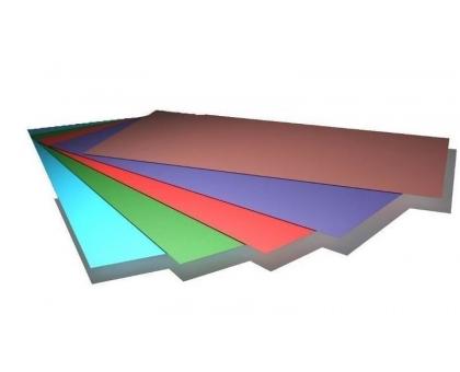 Лист гладкий окрашенный шир1250мм, длина до 4200мм, толщ0,45мм
