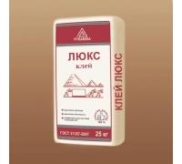 Клей для керамогранита «Люкс» 25 кг. (адгезия 1,2 Мпа).(Система Теплый Пол)