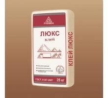 Белый клей для керамогранита «Люкс» 25 кг. (адгезия 1,2 Мпа)