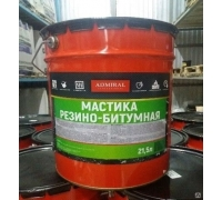 Мастика резино-битумная ADMIRAL 21,5л