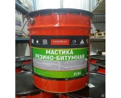 Мастика резино-битумная ADMIRAL 10л