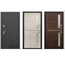 Металлическая дверь Нью-Йорк 7,5 см (каштан перламутр царга, каштан мускат царга) 2050x860(960) наполнение пенополистирол