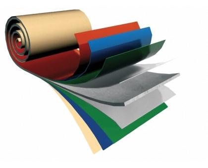 Сталь оцинкованная рулонная с полимерным покрытием толщ. 0.45x1000 мм