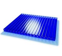 Сотовый поликорбанат Ecovice 8мм, 2 стенки, уф-защита (синий) 2100x6000 mm