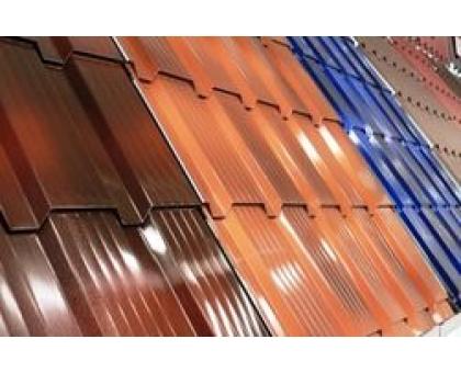 Металлочерепица Монтеррей PRINTECH толщина-0,45мм, ширина-1180x1100мм, длина 350 мм