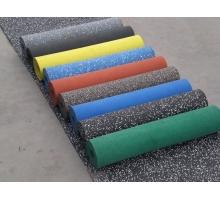 Резиновое рулонное покрытие Микс 15% (плотность 1100) толщ.2 мм